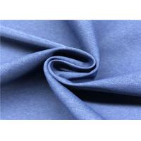 Breathable Taslon Fabric , Soft Elastic Polyester Ripstop Fabric For Outdoor