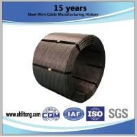 0.5(12.7mm)&0.6(15.24mm)Steel Strand ,Uncoated Seven-Wire for Prestressed Concrete Manufactures