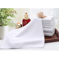 China Luxury Embroidery Logo Hotel Facial Towel Plain White Bath Towel Sheet 100% Cotton on sale