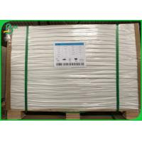 Custom Size 50G Sheet White Offset Paper / Uncoated Papel Bond With 610 * 860MM Manufactures