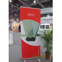 Scrolling Retractable Trade Show Banners For Exhibition 80*200cm Manufactures