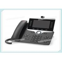 5 High Resolution CP-8845-K9 Cisco IP Video Phone 8800 WVGA Voice Mail CE Standard Manufactures