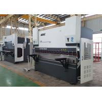 Steel Bending CNC Press Brake Machine Servo Motorized Axis With Hybrid System Manufactures