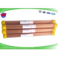 Single Hole EDM Copper Electrode 5.0x400mmL For Small Hole EDM Drilling Machine Manufactures