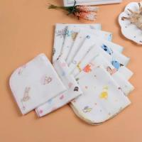 Dyed Natural Pure Cotton Handkerchiefs Facial Oil Cleansing Skin Friendly Manufactures