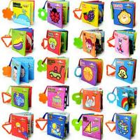China 20 Styles Bbay Cloth Books For Baby Educational Toys Sound Paper For Baby Early Learning on sale