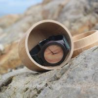 China Good design black sandalwood watches with veneer face , mens wooden watch ,cheap price wood watches on sale