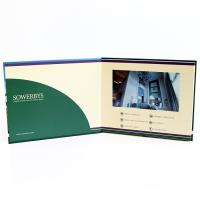 Video in folder Free Sample Limited Automatic opening veremonies lcd video brochure card with multimedia effect Manufactures