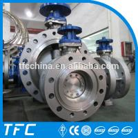 Triple Offset CF8 butterfly valve CF8M, 904L Butterfly Valve Manufactures