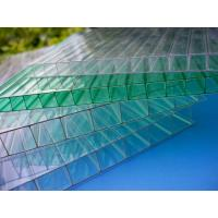 China Impact Resistance Greenhouse 6mm Twin Wall Polycarbonate Sheet With UV Coated on sale