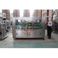 China Fully Automatic High Speed Water Bottle Filling And Bottling Machine PLC Control on sale