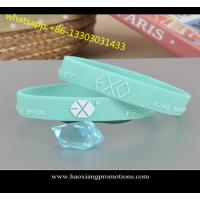 China Customize new style Debossed/Embossed/printed silicone wristband/silicone bracelet on sale