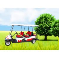 Big Tyre 6 Seater Golf Cart , Street Legal Electric Golf Carts Ce Approved Manufactures