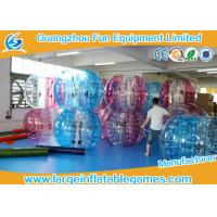 TPU 1.5m Inflatable Bubble Ball Human bumper ball Balloon Soccer CE Certification Manufactures