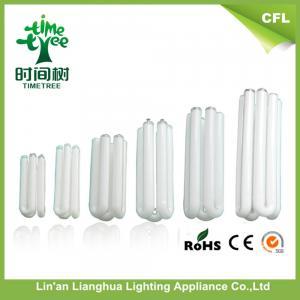 Clear tT 25 Watt SKD CFL Lamp Parts U Shaped Fluorescent Tube 105mm 4u Manufactures