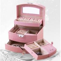 Pink Fashion Luxury Jewelry Box Manufactures