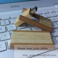 Quality flip usb wood card twister Flash Memory stick laser your logo's promotional gift for sale