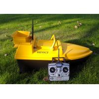 RC Fishing Bait Boat DEVC-103 yellow ABS plastic 11KG / Carton AC 110-240V Manufactures