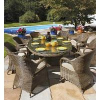 Rattan Outdoor Dinner Chair and Table (YE-4188) Manufactures