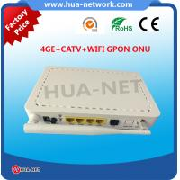 Quality HZW-G804-TW ONT 4GE CATV WIFI GPON ONU for wholesale with fast shipment for sale