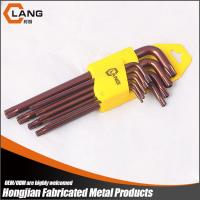 9Pcs Professional  Long Type Star L key wrench Set Manufactures