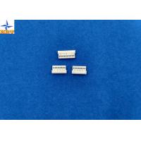 White Wire Board Connector With Phosphor Bronze 1mm Without Mating Lock Manufactures