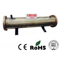 Double System Stainless Steel Shell And Tube Heat Exchanger 3KW-4000KW Manufactures