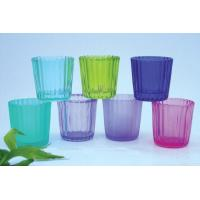 Colored Glass Candle Holders Manufactures