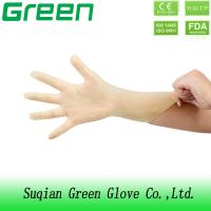 China 100% PVC Polyvinylchloride Synthetic Vinyl powder free Gloves With XS S M L XL on sale