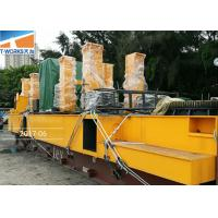 Safety Hydraulic Static Pile Driver For Real Estate Foundation No Vibration