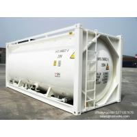 20FT TANK CONTAINER FOR BULK CEMENT  for sale Portable iso Tank Container  WhatsApp:8615271357675  Skype:tomsongking Manufactures