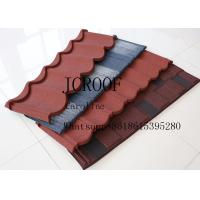 Wind resistance galvanized Stone Coated Roofing Tiles for Middel East Manufactures