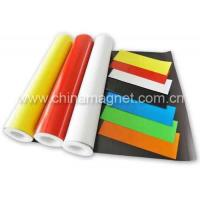 China Laminated Flexible Magnetic Sheeting (Roll) with Vinyl/ PVC on sale