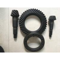 China High Rigidity Crown Wheel And Pinion Gear , Spiral Differential Ring Gear on sale