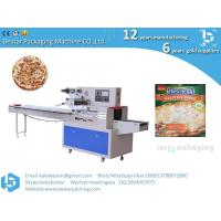 Italian handmade pizzas seafood style pizzas horizontal straight pillow automatic packaging machine Manufactures