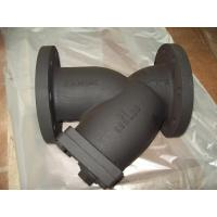 Ductile Iron / Cast Iron Boday, DN50 - DN400 mm Size ANSI B16.10 Y-Strainer Manufactures