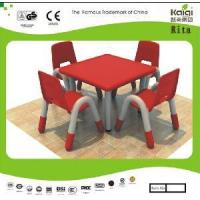 Kid Plastic Table and Chair (KQ10183B) Manufactures
