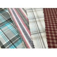 """Brushed 100% Cotton Fabrics 57/8"""" Width red white 21*21 62*52 Manufactures"""