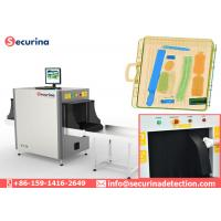 38-40AWG Resolution X Ray Baggage Scanner Machine 140KV With Color Scanning Image Manufactures
