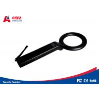 Security Detection Handheld Metal Detector Wand With Round Detection Head Manufactures