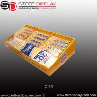 Quality chewing snack tabletop display/counter display for sale