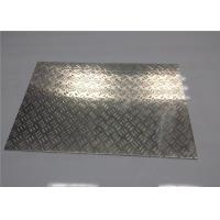 Quality Customized Aluminum Tread Plate Sheet Steamboat / Staircase Aluminium Chequer Plate for sale
