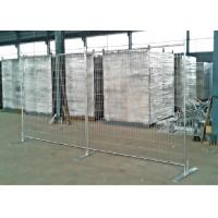 Eco Friendly Temporary Fence Panels Removable Welded Wire Fence Panels Manufactures