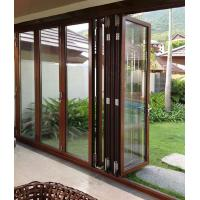 China Anti Rusting Aluminum Frame Glass Door Waterproof With ISO9001 Certification on sale