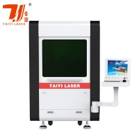 China 300W Enclosed Mini Fiber Laser Cutting Machine For Metal on sale