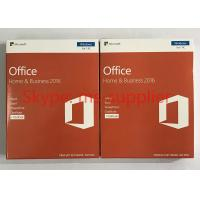 New Microsoft Office Home And Business 2016 With Genuine Retail Box Online Activation Manufactures