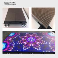 China High Refresh Rate LED Illuminated Dance Floor Soft And Clear Color Rendering on sale
