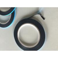 Double sided PE black foam tape with blue liner for sale