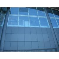 Quality Frameless Structural Glass Curtain Wall Partition Security Soundproof for sale