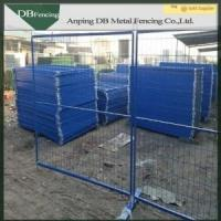 Powder Coated Temporary Garden Fencing Corrosion Resisting For Crowd Control Manufactures